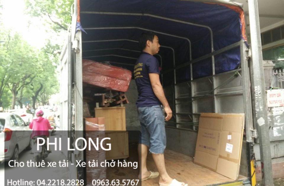 Phi Long cho thuê xe tải chở hàng thuê tại phố Chu Văn An