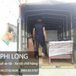Phi Long cho thuê xe tải chở hàng tại phố Hoàng Hoa Thám