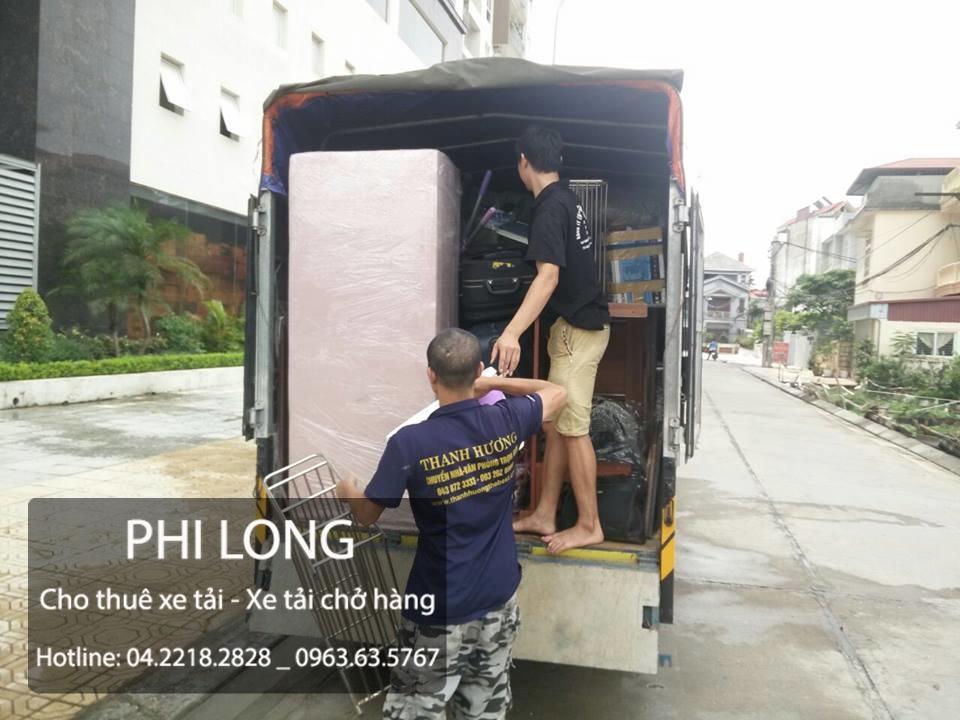 Dịch vụ cho thuê xe tải chở hàng thuê tại phố Chu Văn An