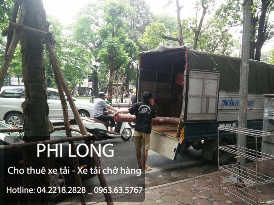 Phi Long cho thuê xe tải chở hàng chuyên nghiệp tại phố Hoàng Hoa Thám