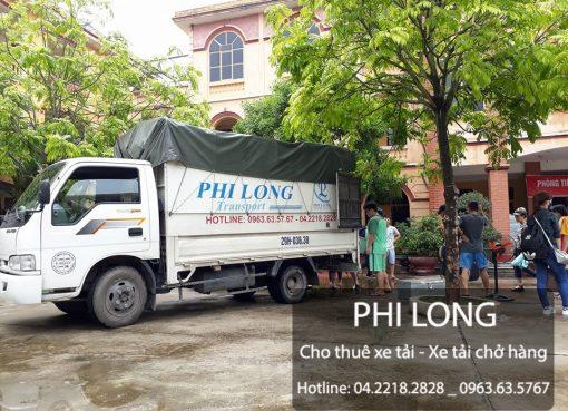 Phi Long cung cấp cho thuê xe tải chở hàng tại phố Lê Quý ĐônPhi Long cung cấp cho thuê xe tải chở hàng tại phố Lê Quý Đôn
