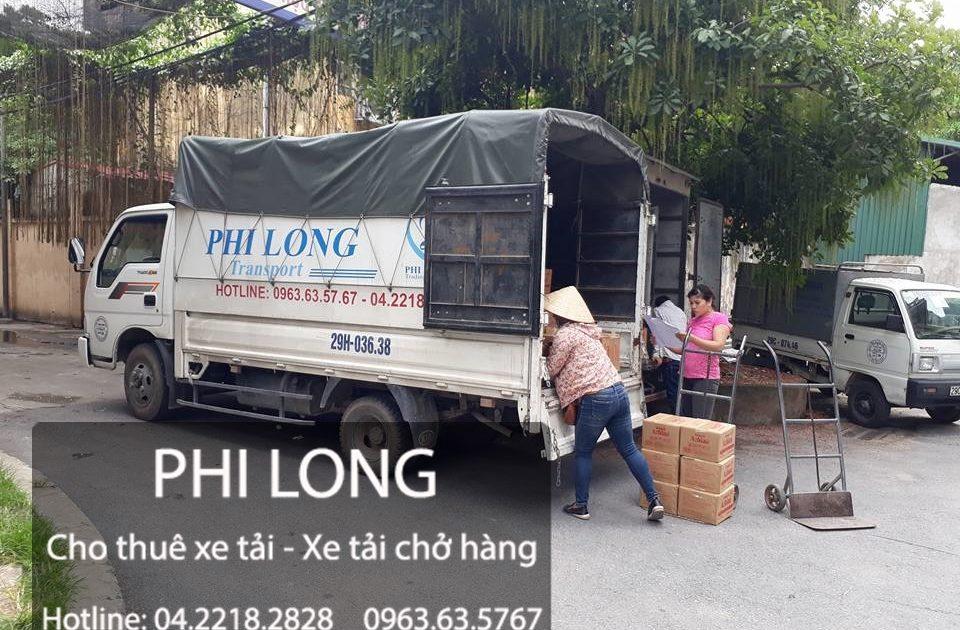 Phi Long cung cấp dịch vụ chuyển nhà, cho thuê xe tải hàng đầu tại đường Bến Phà