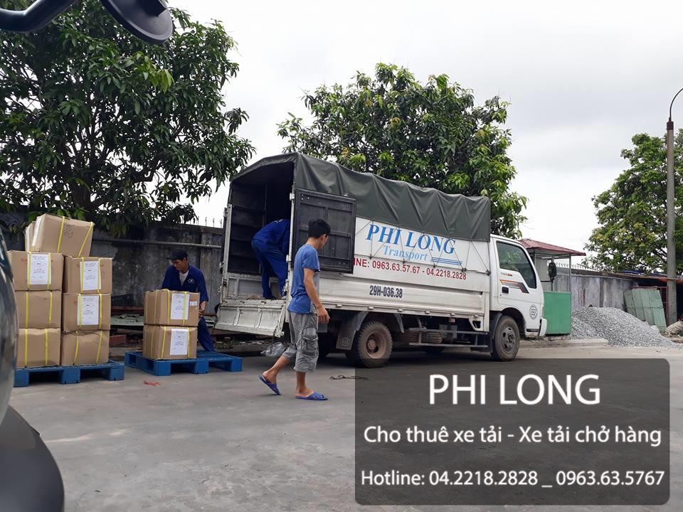 Phi Long cho thuê xe tải chở hàng tại đường Bến Phà