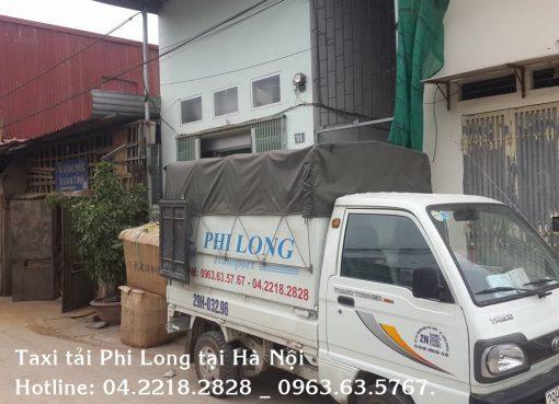 Cho thuê xe tải giá rẻ tại phố Văn Quán taxi tải Phi Long