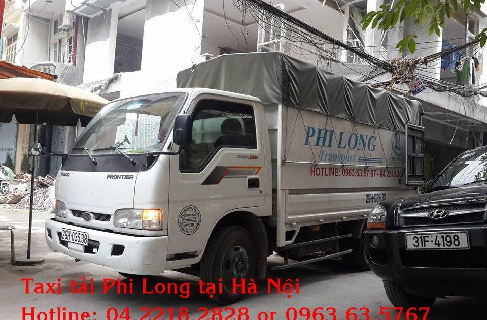 Dịch vụ cho thuê xe tải chuyển văn phòng Phi Long