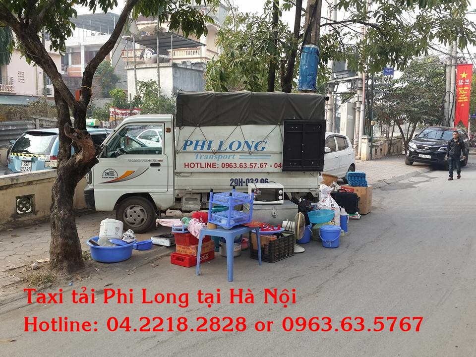 Taxi tải Phi Long tại quận Hoàng Mai