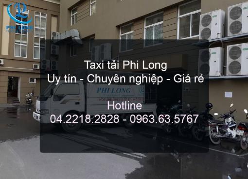 Cho thuê xe tải 1,25 tấn Phi Long