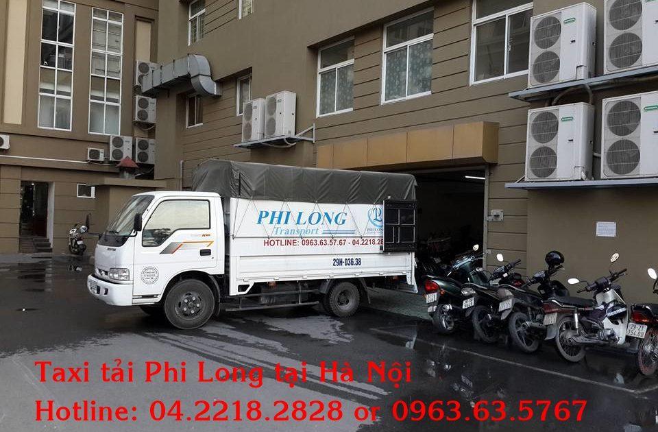 Phi Long cho thuê xe tải tại quận Ba Đình