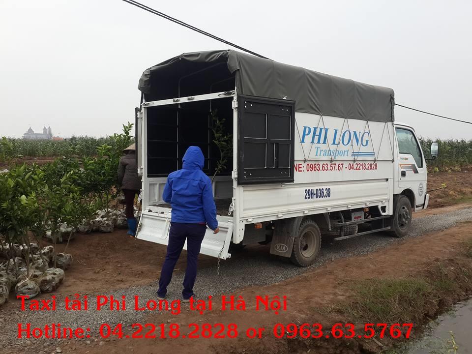 Dịch vụ cho thuê xe tải Phi Long tại thị xã Sơn Tây