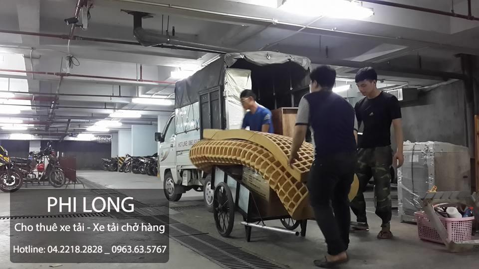 Công ty Phi Long hãng cho thuê xe tải chuyên nghiệp tại phố Nguyễn Trãi