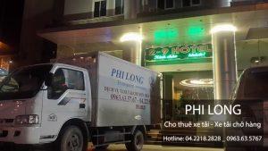 Dịch vụ cho thuê xe tải Phi Long tại phố phố Hoàng Đạo Thúy