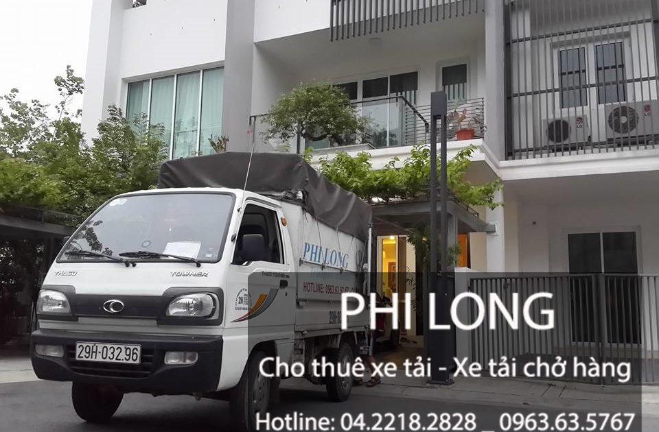 Cho thuê xe tải chuyển nhà giá rẻ tại phố Tô Hiệu