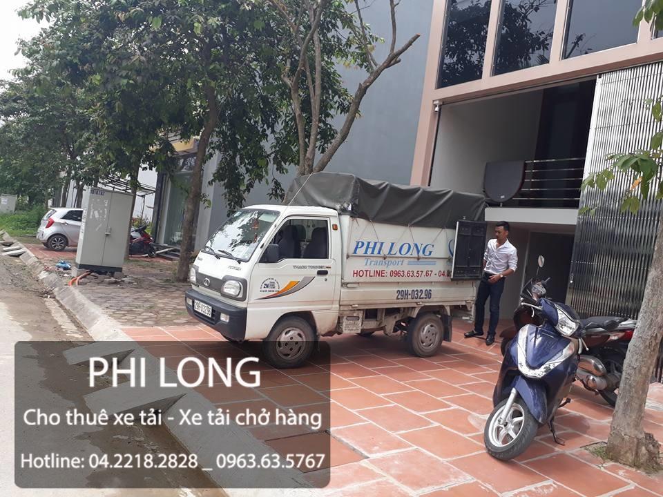 Công ty Phi Long hãng cho thuê xe tải chở hàng tại phố Tô Hiệu