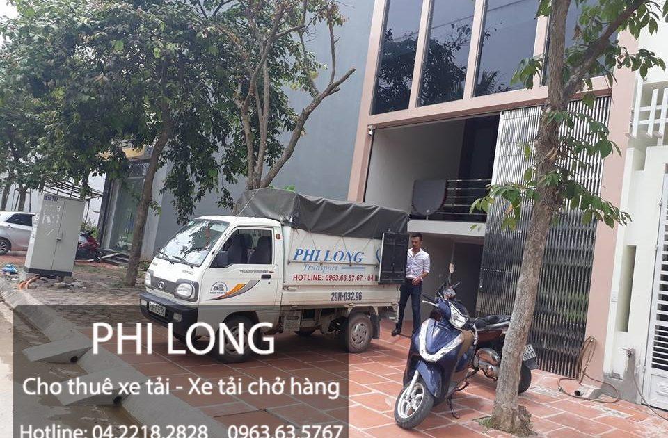 Dịch vụ cho thuê xe tải chở hàng giá rẻ chuyên nghiệp Phi Long tại phố Quang Trung