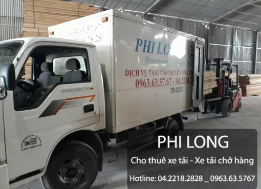 Cho thuê xe tải chở hàng giá rẻ tại phố Mỗ Lao