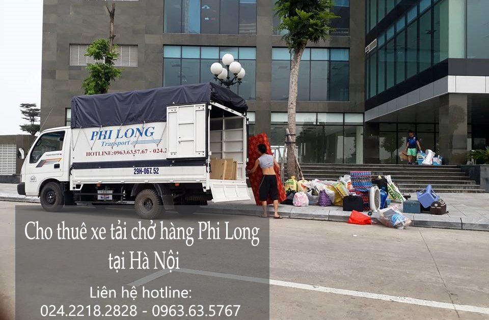 Dịch vụ cho thuê xe tải chở hàng tại phố Quần Ngựa