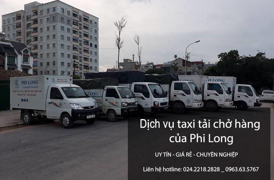 Dịch vụ cho thuê xe tải tại phố Phúc Xá