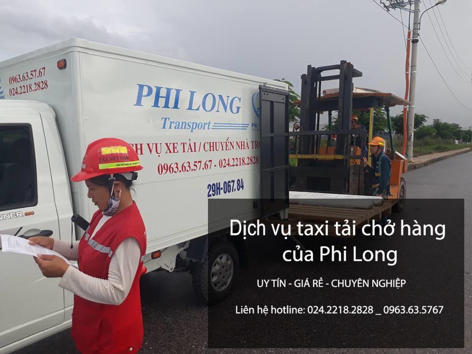 Dịch vụ cho thuê xe taxi tải tại phố Hồng Mai-0963.63.5767