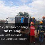 Dịch vụ cho thuê xe tải tại phố Huỳnh Tấn Phát