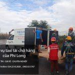 Dịch vụ cho thuê xe tải tại phố An Trạch