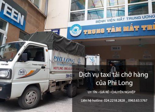 Taxi tải Phi Long cung cấp cho thuê xe tải giá rẻ tại phố Đốc Ngữ