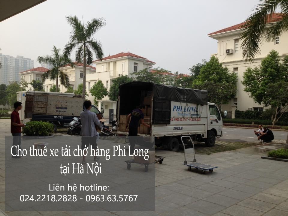 Dịch vụ cho thuê xe tải tại phố Võ Chí Công