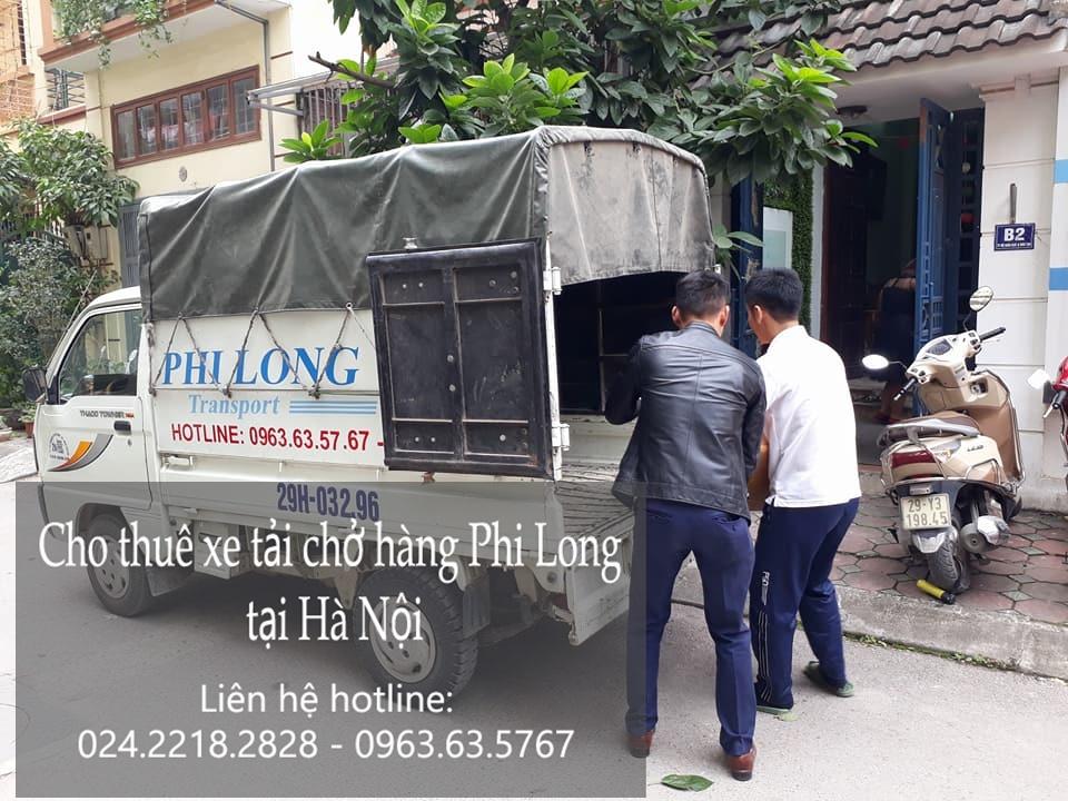 Dịch vụ chở hàng thuê bằng xe tải tại phố Phó Đức Chính