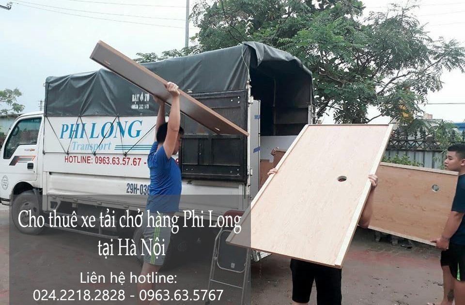 Dịch vụ cho thuê xe tải chở hàng giá rẻ Phi Long tại Đường Bưởi
