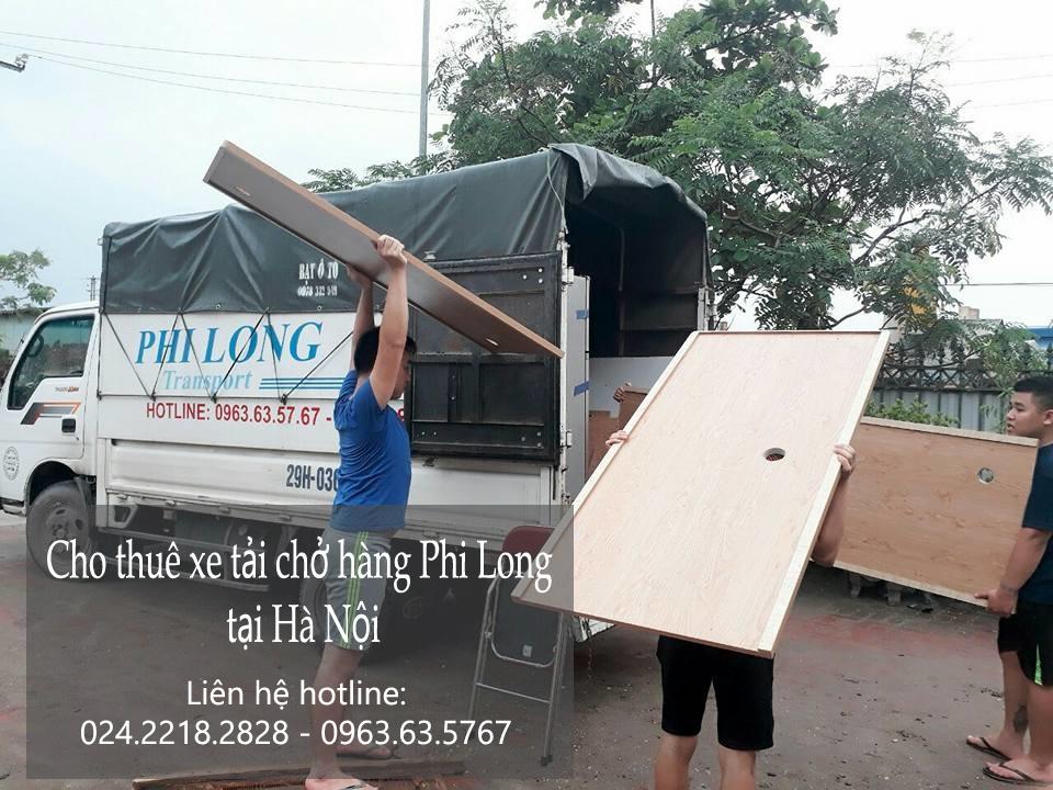 Dịch vụ cho thuê xe tải chở hàng tại phố Vĩnh Phúc
