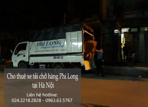 Dịch vụ cho thuê xe tải chở hàng tại phố Đội Nhân