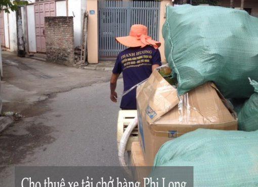 Dịch vụ cho thuê xe tải tại phố Trạm