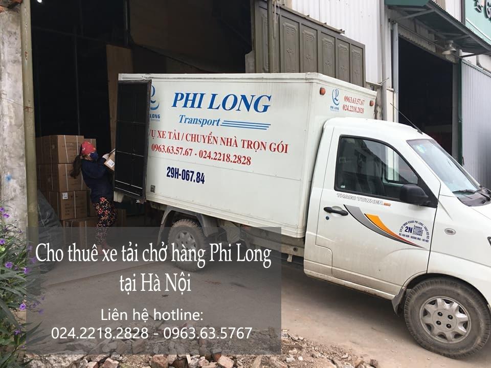 Dịch vụ chở hàng thuê bằng xe tải tại phố Phương Mai