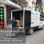 Dịch vụ chở hàng thuê bằng xe tải tại phố Thượng Thanh