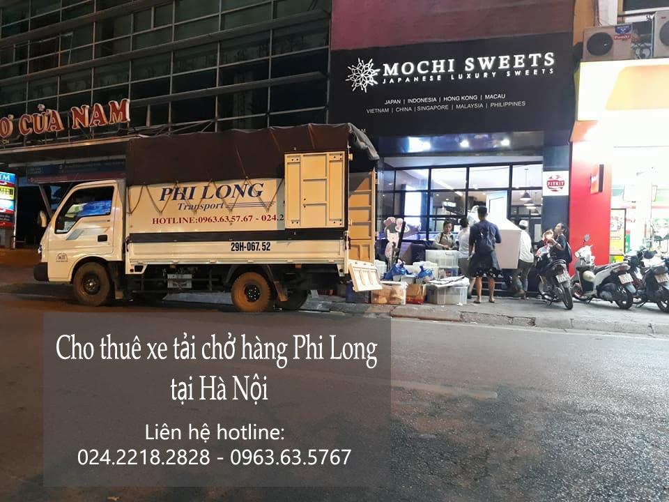 Dịch vụ chở hàng thuê bằng xe tải tại phố Hoàng Tích Trí