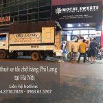 Dịch vụ cho thuê xe tải tại phố Phú Thượng