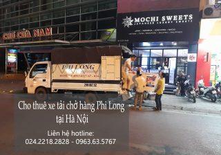 Dịch vụ cho thuê xe tải tại phố Trần Thủ Độ