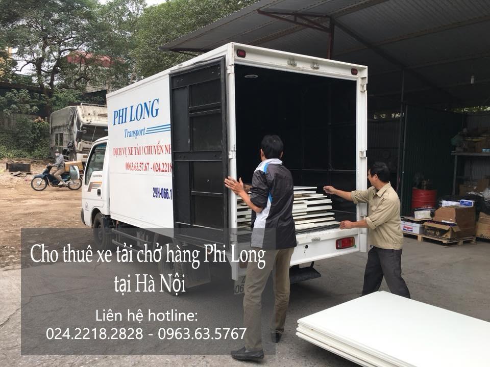 Dịch vụ cho thuê xe tải tại phố Thanh Yên