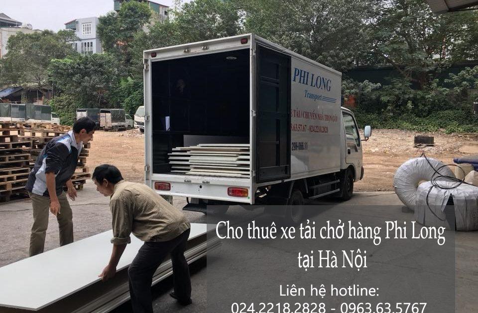 Dịch vụ cho thuê xe tải tại phố Đông Thiên