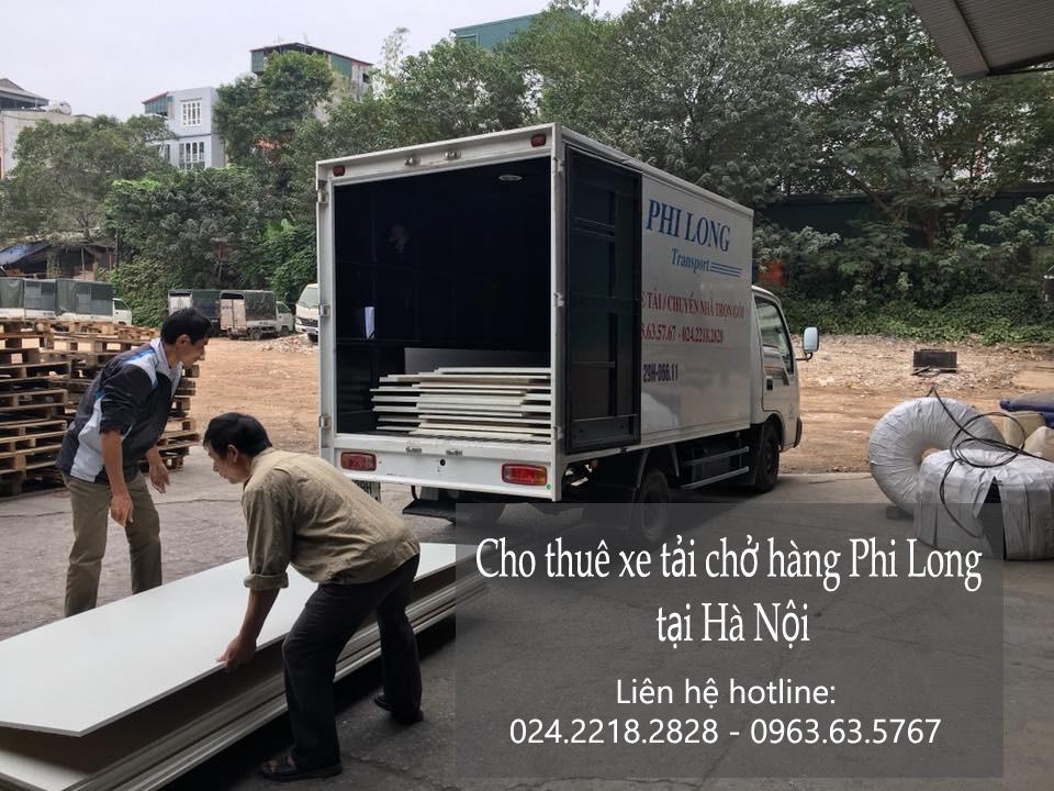 Dịch vụ cho thuê xe tải tại phố Trần Quốc Toản