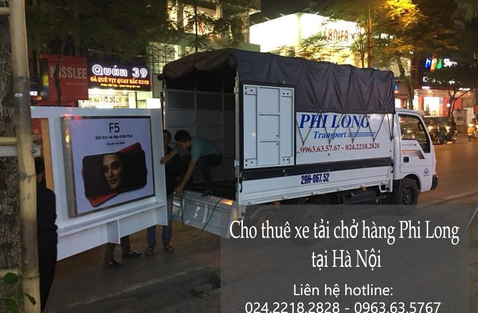 Dịch vụ cho thuê xe tải tại phố Trần Khát Chân