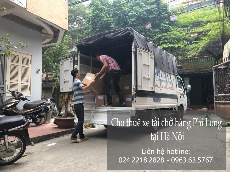 Dịch vụ cho thuê xe tải chở hàng tại phố Đặng Dung