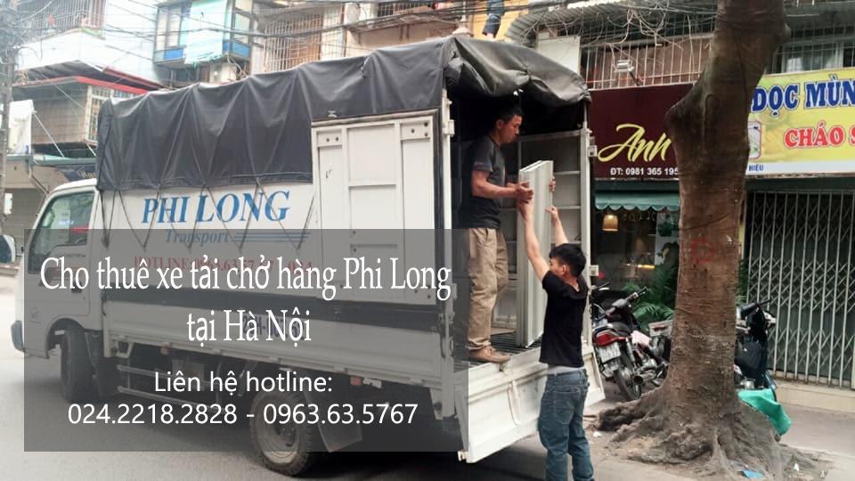 Dịch vụ cho thuê xe tải tại phố Trịnh Hoài Đức