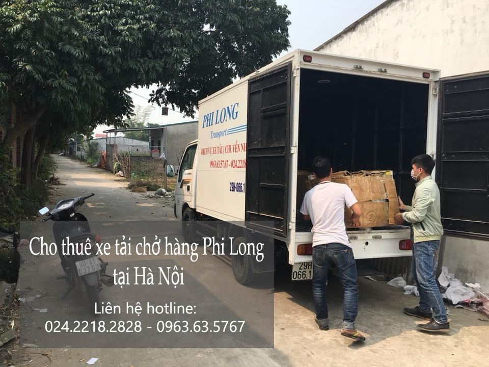 Dịch vụ cho thuê xe tải tại phố Nguyễn Phong Sắc