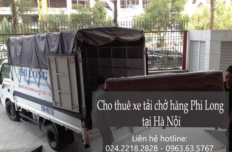 Dịch vụ cho thuê xe tải tại phố Phùng Khoang