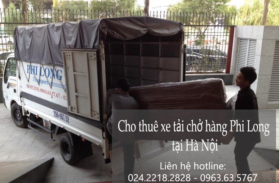 Dịch vụ cho thuê xe tải tại phố Lương Ngọc Quyến