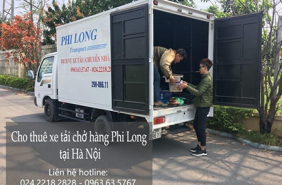 Dịch vụ cho thuê xe tải nhỏ tại phố Ngô Văn Sở