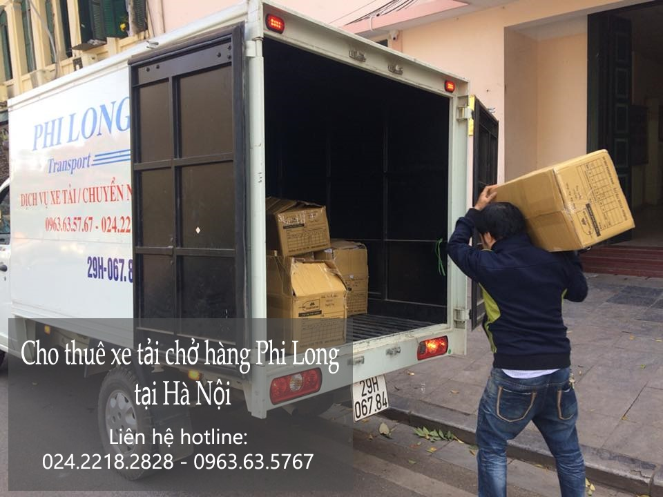 Dịch vụ cho thuê xe tải tại phố Nguyễn Cảnh Chân