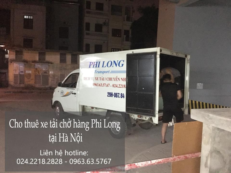 Dịch vụ chở hàng thuê bằng xe tải tại phố Nguyễn Văn Trỗi