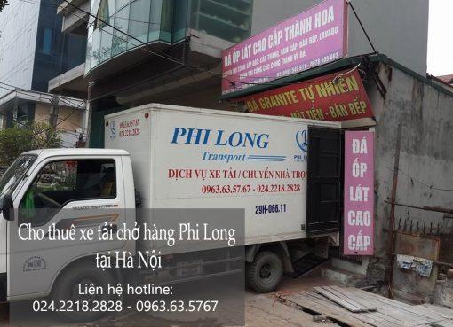 Dịch vụ cho thuê xe tải tại phố Thanh Bình