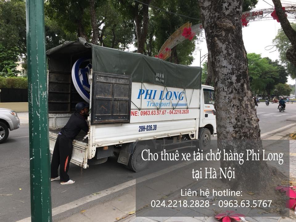 Chở hàng thuê bằng xe tải giá rẻ tại phố Lê Lợi